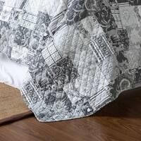 Heritage Patchwork Cotton 3-Piece Quilt Set