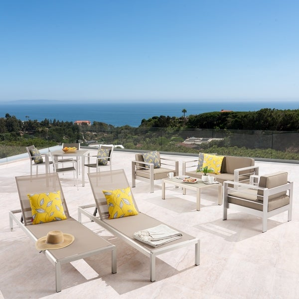 Shop Cape Coral Outdoor Dining Set Conversation Set