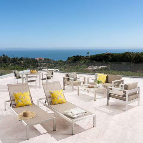 Silver Patio Furniture.Silver Wicker Patio Furniture Find Great Outdoor Seating Dining
