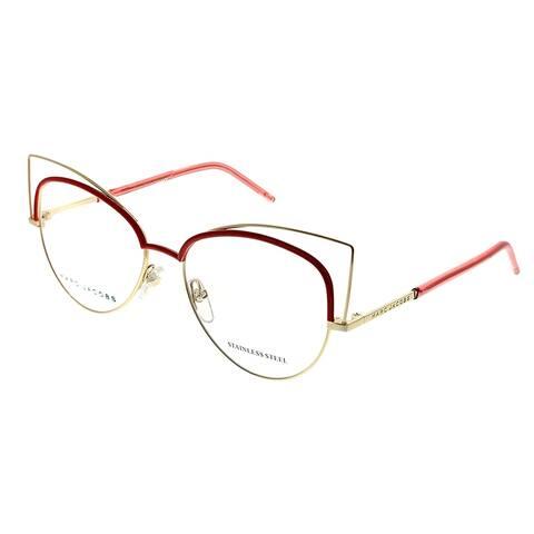 Marc Jacobs Cat-Eye Marc 12 U0Y Women Gold Brick Frame Eyeglasses