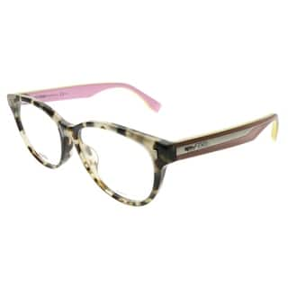 dc01f4a985a4 Fendi Cat-Eye FF 0186 F UEY Women Grey Havana Pink Frame Eyeglasses