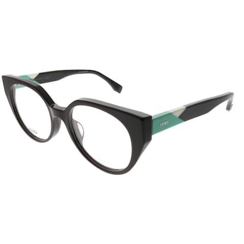 6e564dfcc6e4b Fendi Cat-Eye FF 0160 F Fendi Facets PJQ Women Burgundy Frame Eyeglasses