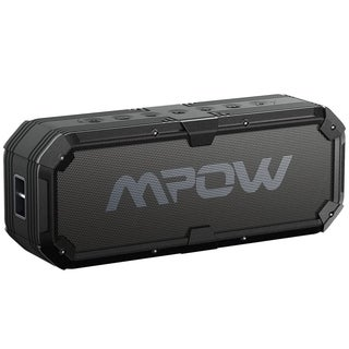 Mpow Bluetooth 4.0 Travel Speaker, Portable Waterproof Wireless Speaker + Enhanced Bass