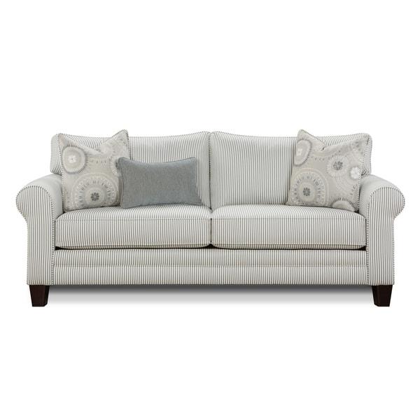 Sleeper Sofa Overstock: Shop Longboard Chambray Blue Sleeper Sofa