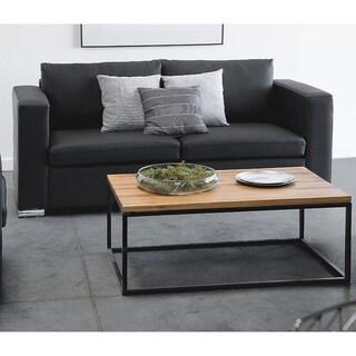 2 Seater Leather Sofa - Black HELSINKI