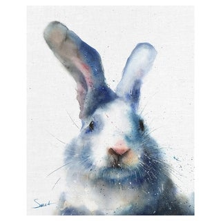 Masterpiece Art Gallery White Rabbit By Eric Sweet Canvas Art Print