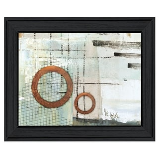 """""""Balance this I"""" by Cloverfield & Co, Ready to Hang Framed Print, Black Frame"""