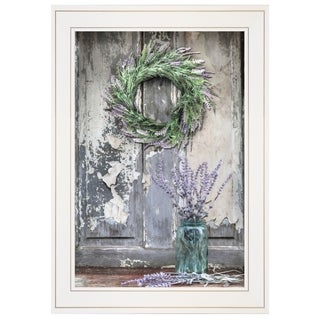 """Sweet Memories"" by Lori Deiter, Ready to Hang Framed Print, White Frame"