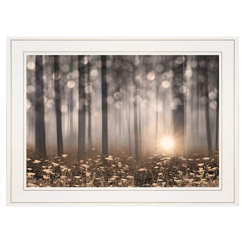 """Enchanted Morning"" by Lori Deiter, Ready to Hang Framed Print, White Frame"