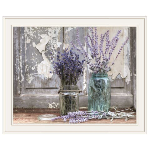 """Abundance of Beauty"" by Lori Deiter, Ready to Hang Framed Print, White Frame"