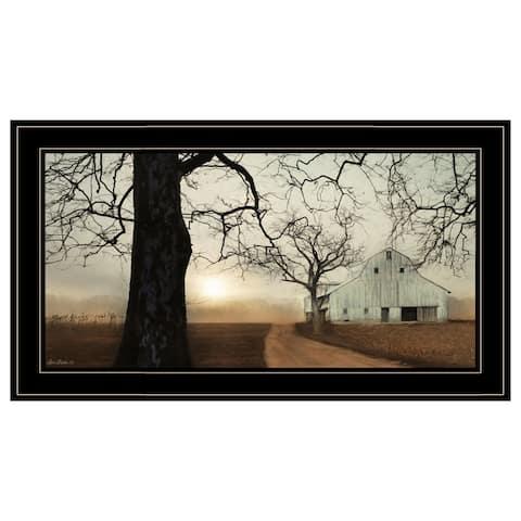 """Millersburg Sunrise"" by Lori Deiter, Ready to Hang Framed Print, Black Frame"