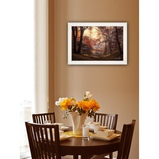 """""""The Pool"""" by Martin Podt, Ready to Hang Framed print, White Frame"""