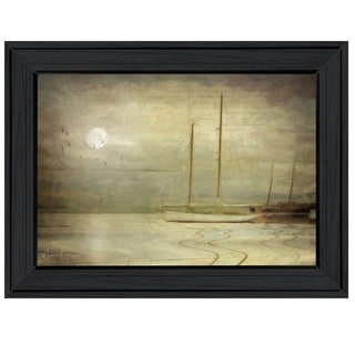 """""""Harbor Mist"""" by Michael Petrizzo, Ready to Hang Framed Print, Black Frame"""
