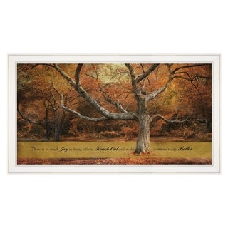 """""""Reach Out"""" by Robin-Lee Vieira, Ready to Hang Framed print, White Frame"""