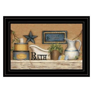 """""""Buttermilk Soap Co"""" by Carrie Knoff, Ready to Hang Framed print, White Frame"""