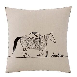 Ellen DeGeneres Akira Kindness Animals Throw Pillow