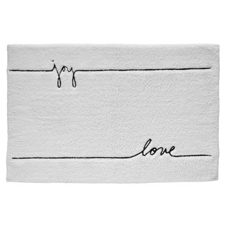 Ellen DeGeneres Words Rectangle Bath Rug - 20x30