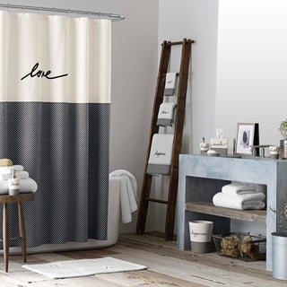 Ellen DeGeneres Love Shower Curtain