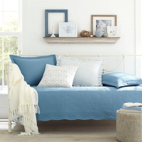 Stone Cottage Trellis Blue Daybed Set