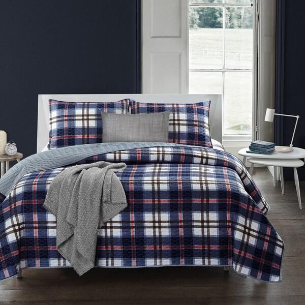 Shop Adrien Lewis Bradley 3 Pc Quilt Set Free Shipping