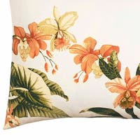 Tommy Bahama Siesta Key Coral Breakfast Pillow