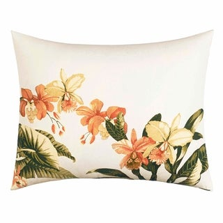 Tommy Bahama Siesta Key Coral Breakfast Pillow