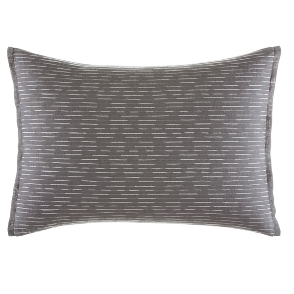 Vera Wang Burnished Quartz 15x20 Throw Pillow