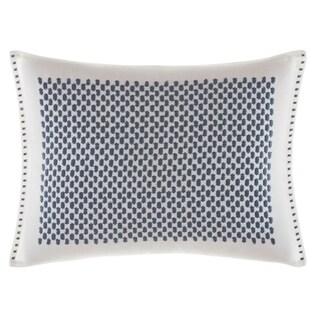 Vera Wang Shibori Grid  12X16 Breakfast Pillow