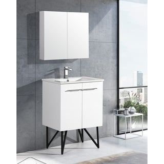 "Swiss Madison Annecy 24"" Single, Two Doors, Bathroom Vanity"