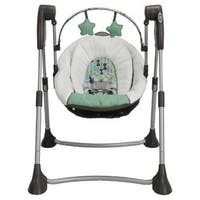 Shop Graco Alphabet Checkers Recliner Wind Up Swing Free