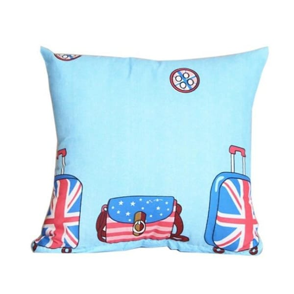 Small Fresh Pillow Cover Home Life Fashion Print-A26