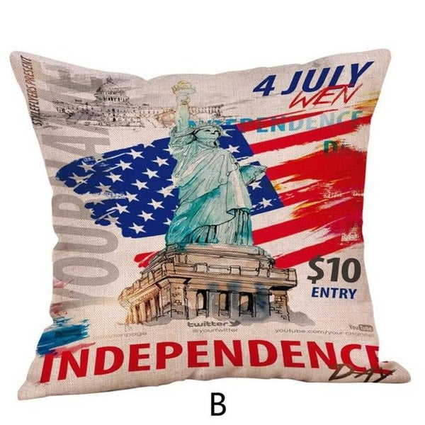 Happy Independence Day Pillow Cases-A52
