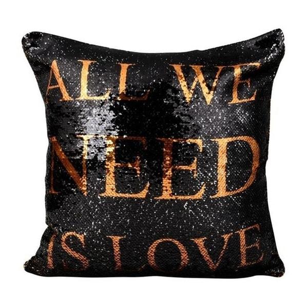 DIY Pillow cover Mermaid Sequin Pillowcase-A39
