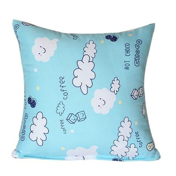 Decorative Cushion Covers Soft Plush Pillow Case-A17