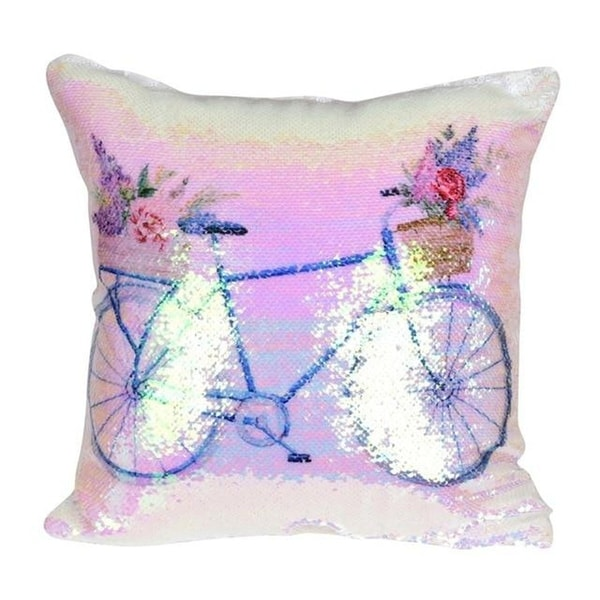 DIY Pillow cover Mermaid Sequin Pillowcase-A37