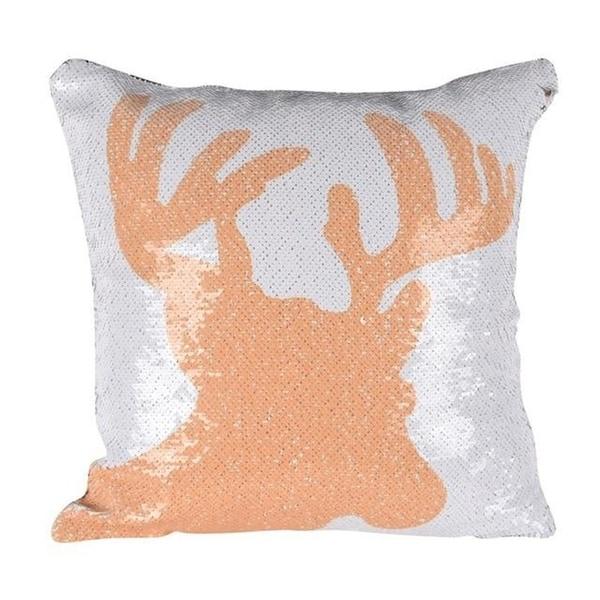 DIY Pillow cover Mermaid Sequin Pillowcase-A35