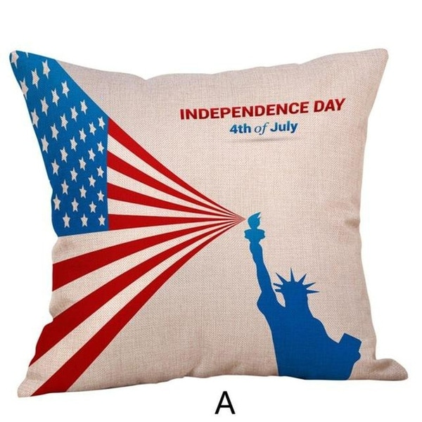 Happy Independence Day Pillow Cases-A51