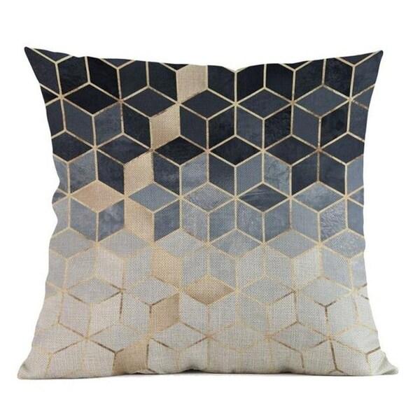 Geometric Pillow Case Waist 45x45cm Home Décor-A131