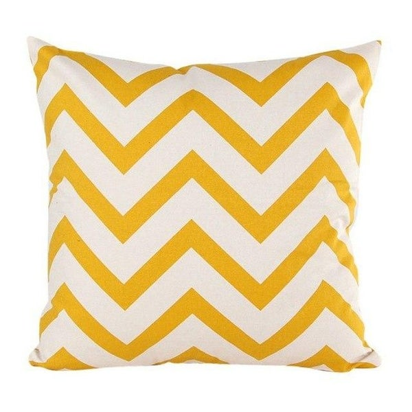 Wavy Striped Pillowcase With Hidden Zip Closure-A161