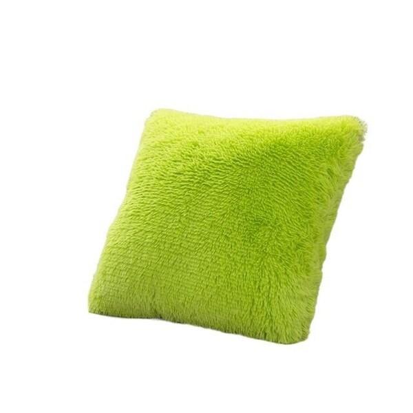 Faux Fur Fleece Cushion Cover-A134