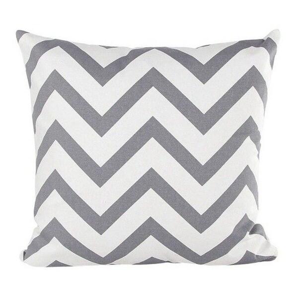 Wavy Striped Pillowcase With Hidden Zip Closure-A159