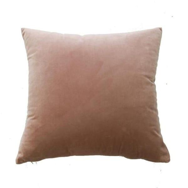 Velvet Pillow Case Sofa Waist Throw Cushion Cover-A75