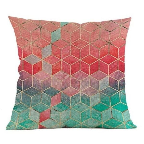 Geometric Pillow Case Waist 45x45cm Home Décor-A130