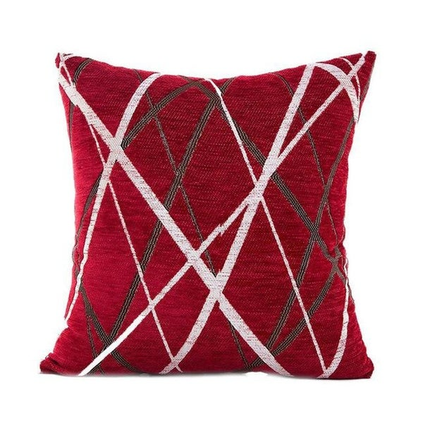 Stylish Simplicity Polyester Cushion Cover-A236