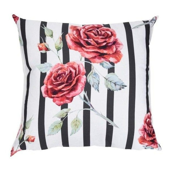 Flower Print 45x45cm cushion cover Pillow Case-A232