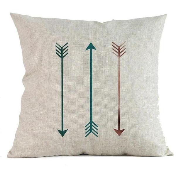 Geometric cushion covers soft fabric Throw Pillow Case-A281