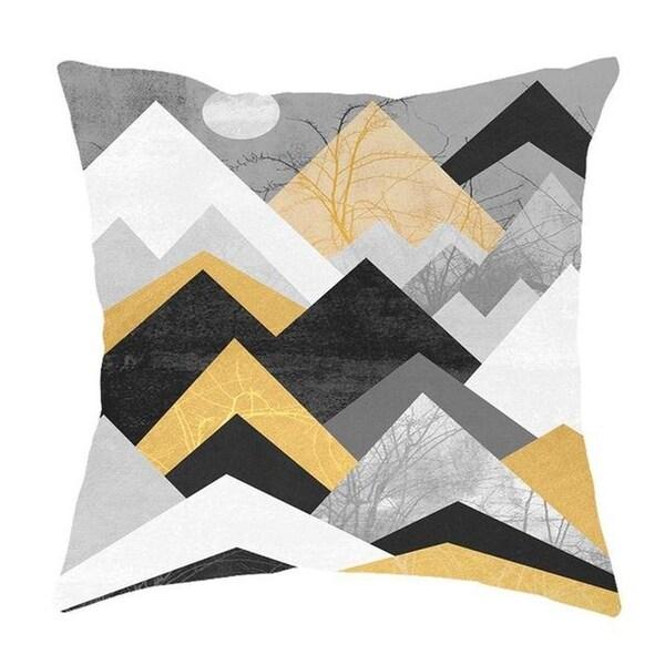 Geometric Pillow Case Waist Cushion Cover Sofa Home Décor-A258