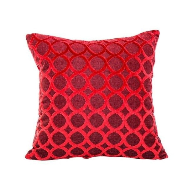 Soft Polyester Square Throw Pillow Cases Home Décor-A220