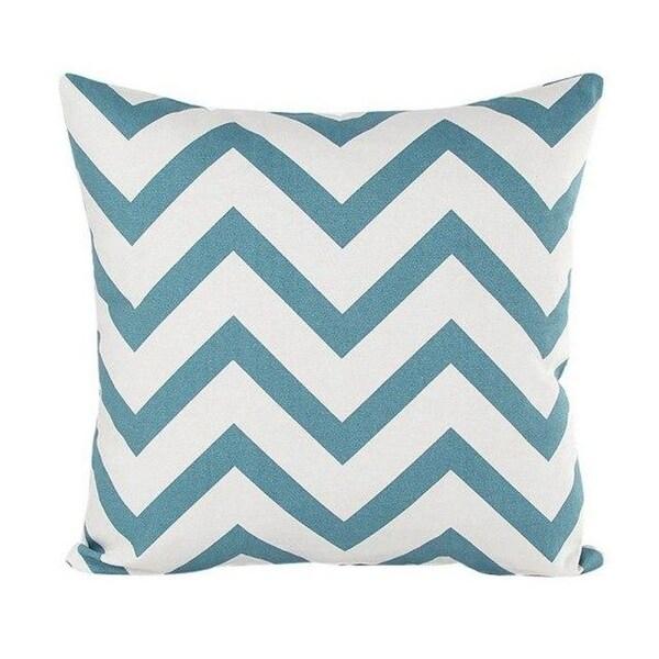 Wavy Striped Pillowcase With Hidden Zip Closure-A160