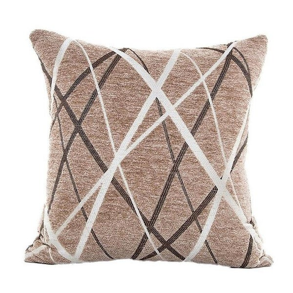 Stylish Simplicity Polyester Cushion Cover-A234